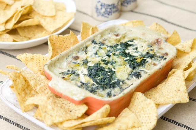 Vegan Kale & Artichoke Dip