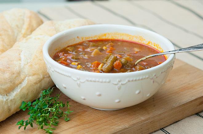 Vegan Homemade Vegetable Soup