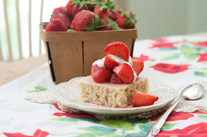 Strawberry & Vanilla Shortcake