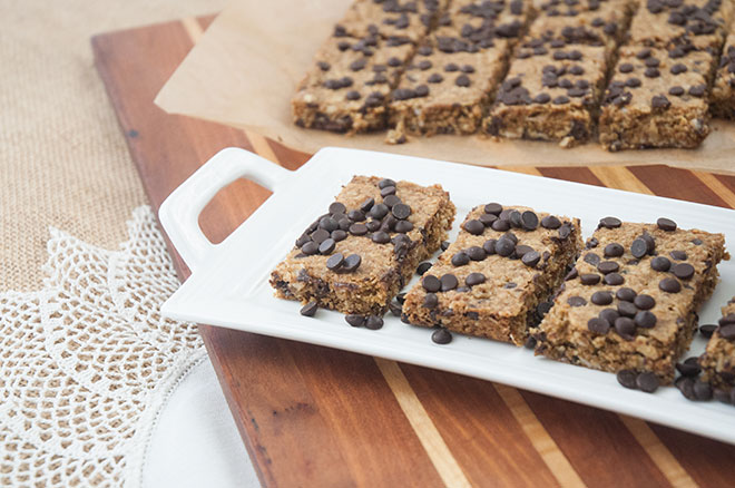 Salted Maple Toffee Bars Vegan